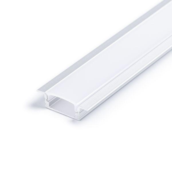 Aluminium LED Einbau Profil, slim, 2,32 x 0,8cm