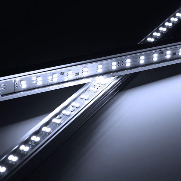 24V TWIN-Line Quick LED-Leisten Modul - 250mm 42x SMD LEDs - tageslichtweiß 400lm