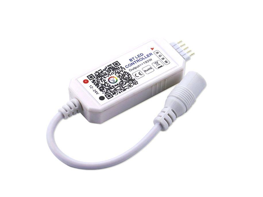 Mini RGB + RGBW Bluetooth Controller 12-24V DC