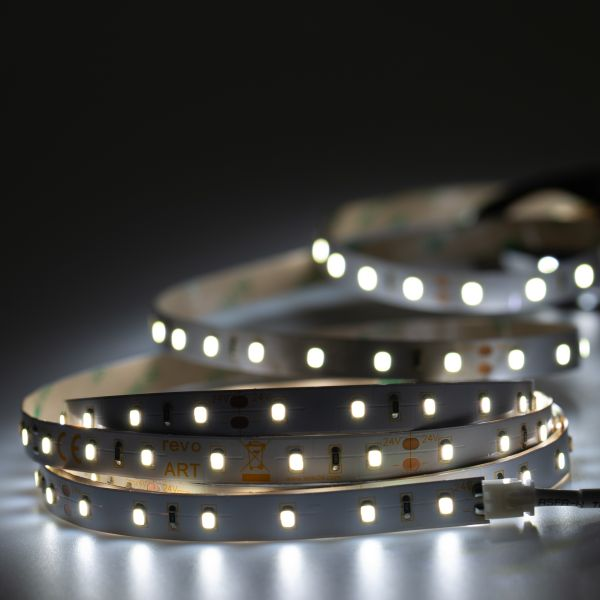 24V LED Streifen – weiß – 60 LEDs je Meter – alle 10cm teilbar