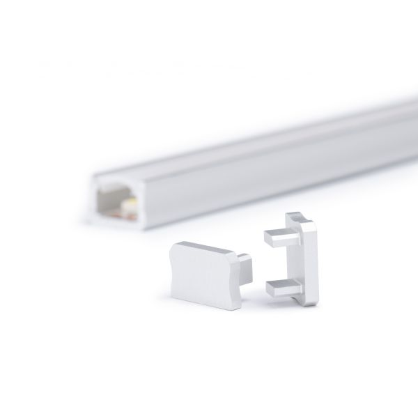Endkappe für Aluminium LED Profil CC-62