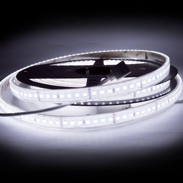 24V wasserfester LED Streifen – weiß – 250cm – IP67
