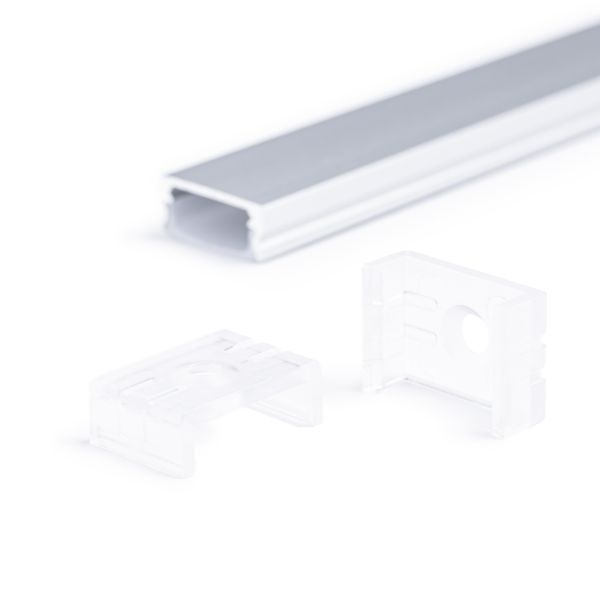 Wandhalter für Aluminium Flachprofil CC-42