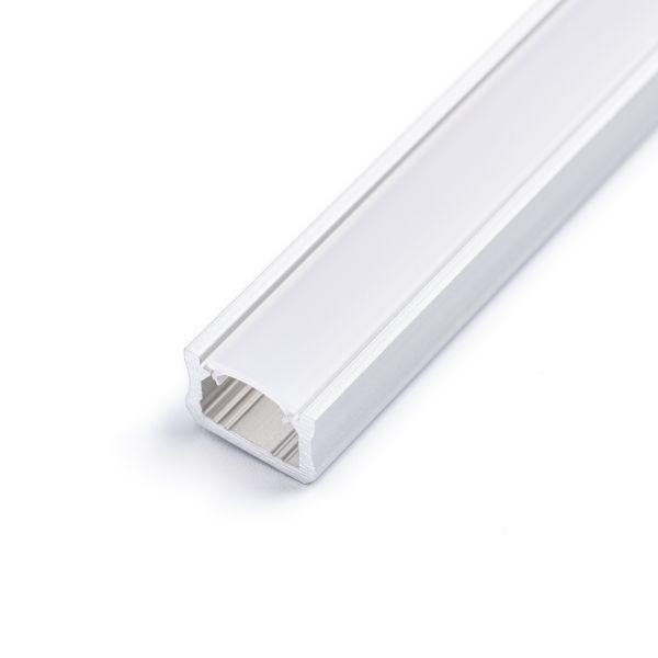 Aluminium LED Aufputz Profil, mini, 1,2 x 0,8cm