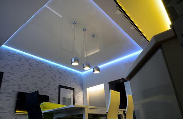LED Indirekte Beleuchtung Decke