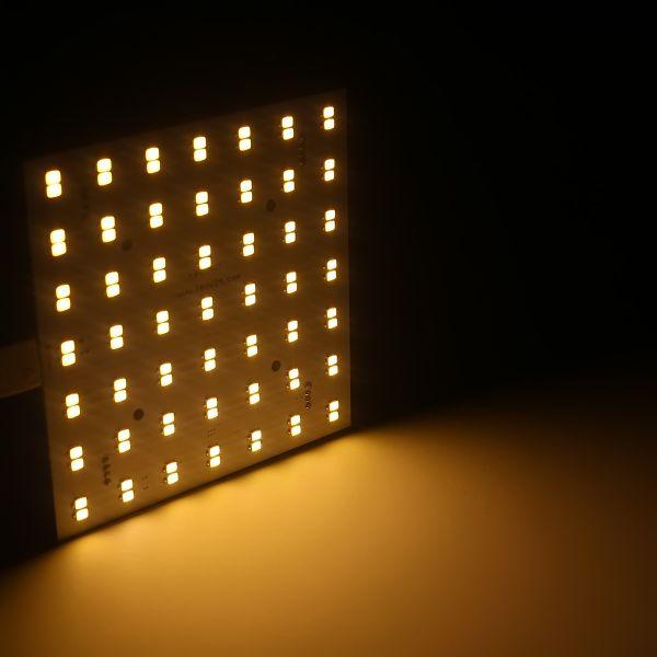 MATRIX-Modul Cluster 96 LEDs warmweiß 3000K - 24V - 600 Lumen
