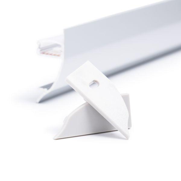 Endkappen Set für Aluminium LED Profil CC-74
