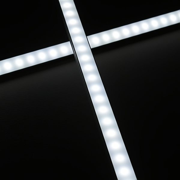 eXtreme-Line ALU LED-Leiste 100cm wasserfest 24V IP65 70x 5730 LEDs - weiß 5500K diffus