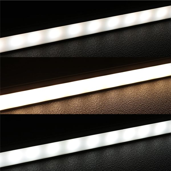24V CCT eXtrem-Line high-Power-LED-Leiste diffus Farbtemperatur einstellbar - ab 23cm bis 193cm