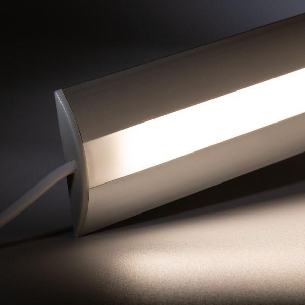 24V Aluminium Türschwellen LED Leiste - tageslichtweiß - diffuse Abdeckung
