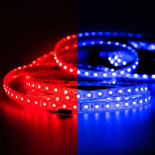 24V wasserfester LED Streifen – RGB – 250cm – IP67