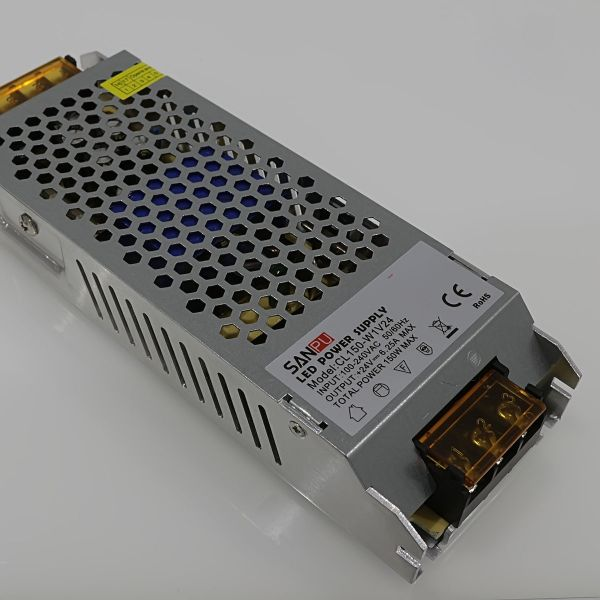 LED-Trafo Einbau-Netzteil stabilisiert 24V DC 6.2A 150Watt