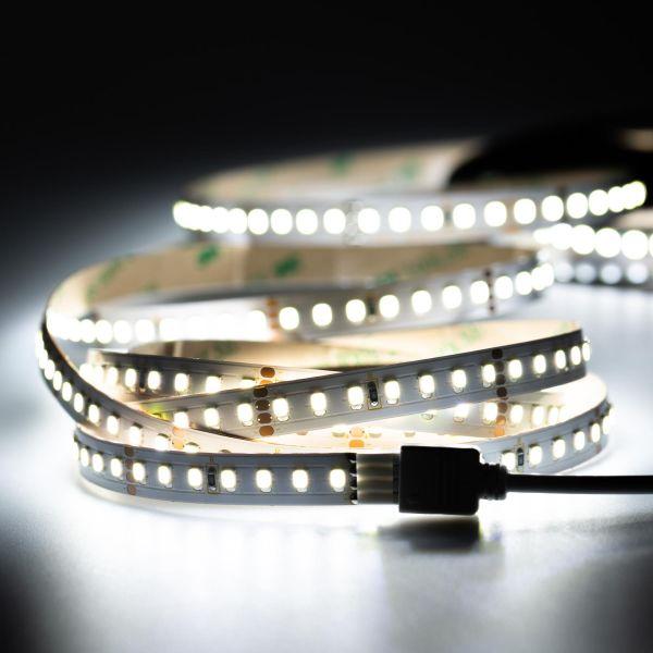 24V LED Streifen – weiß – 140 LEDs je Meter – alle 5cm teilbar