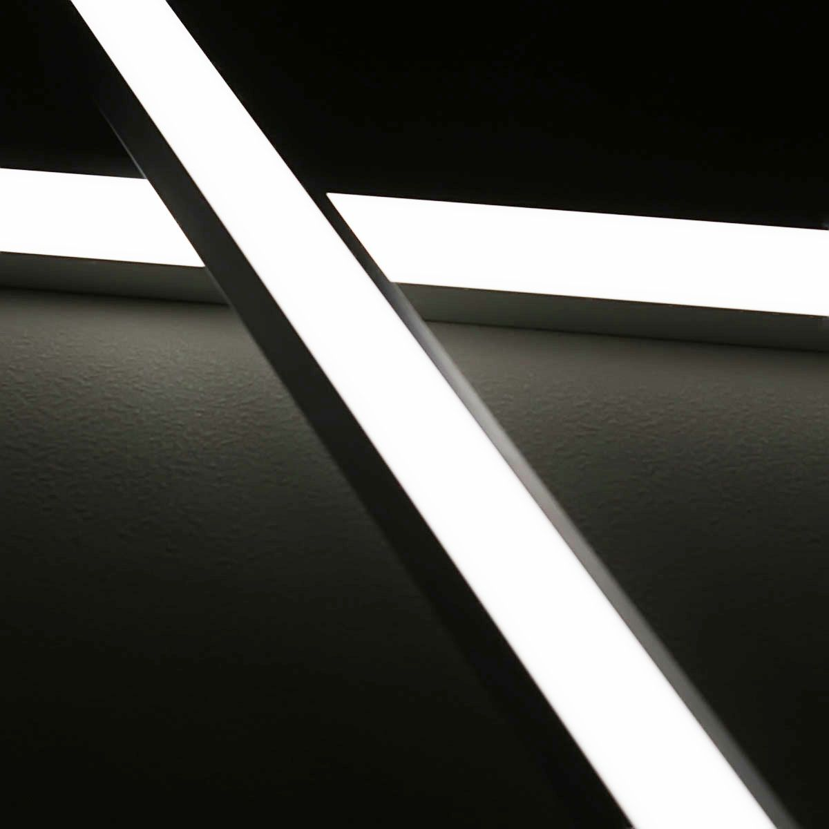 24V Aluminium LED Eckleiste – weiß – diffuse Abdeckung