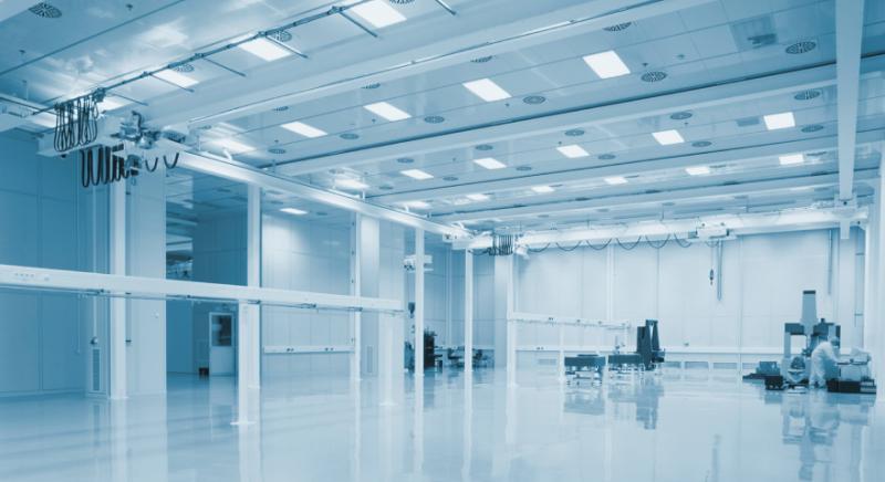 LED Industriehallen