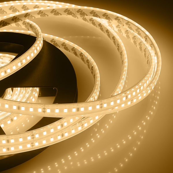 24V wasserfester LED Streifen – warmweiß – 500cm – IP67