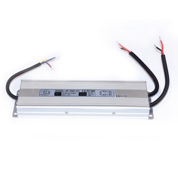 24V DC – wasserfestes Netzteil stabilisiert – 14,6A – 350Watt – IP67
