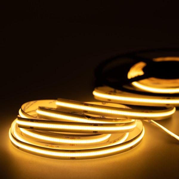 24V COB LED Streifen – warmweiß – alle 6,25cm teilbar