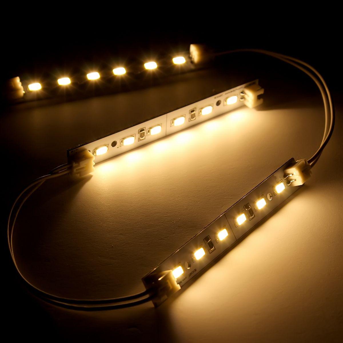 12V LED Modul – warmweiß – 10cm