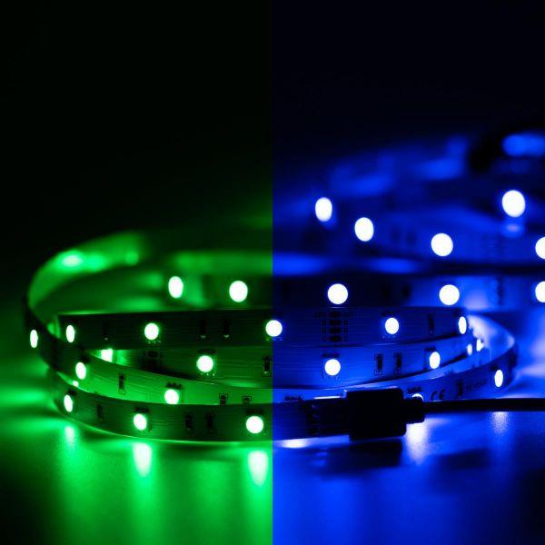 12V LED Streifen – RGB – 30 LEDs je Meter – alle 10cm teilbar