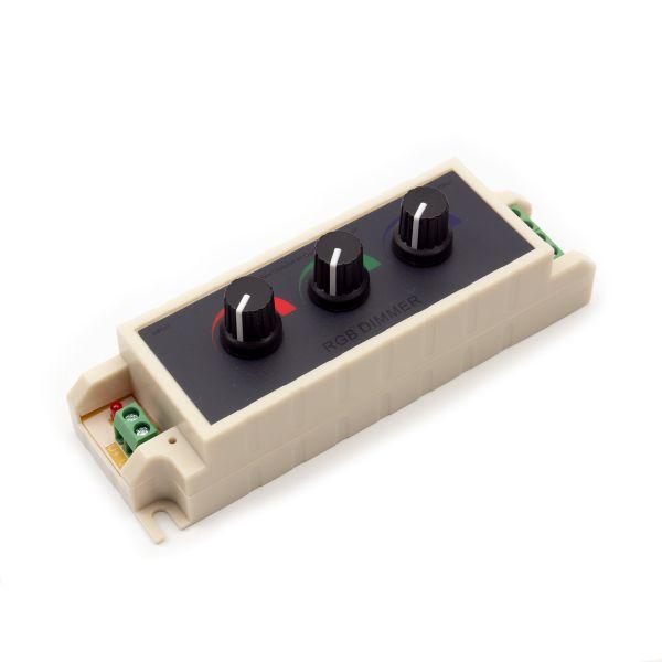 LED Controller – RGB – manuell mit Drehregler