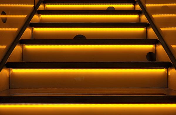 LED Treppe