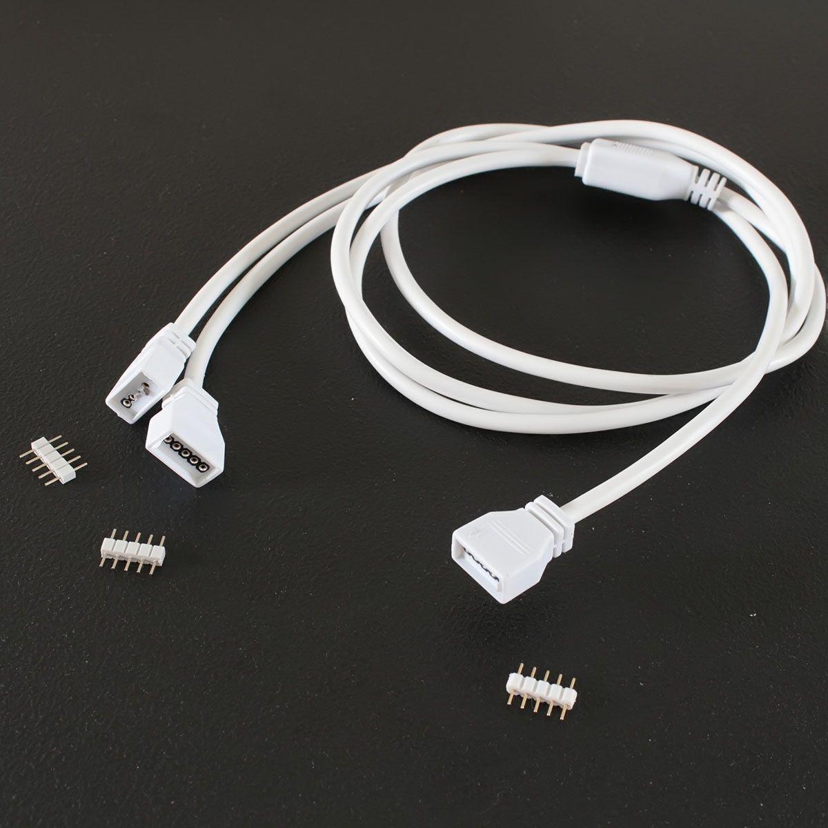 Quick-System 5polig 2.54 – Y-Verteilerkabel – 3x50cm
