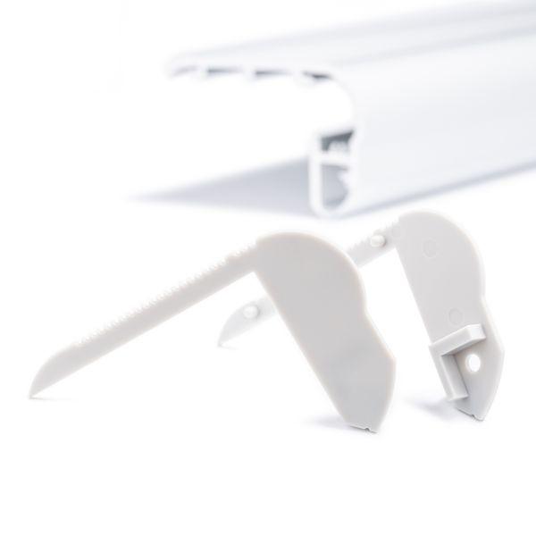 Endkappen Set für Aluminium LED Profil CC-60
