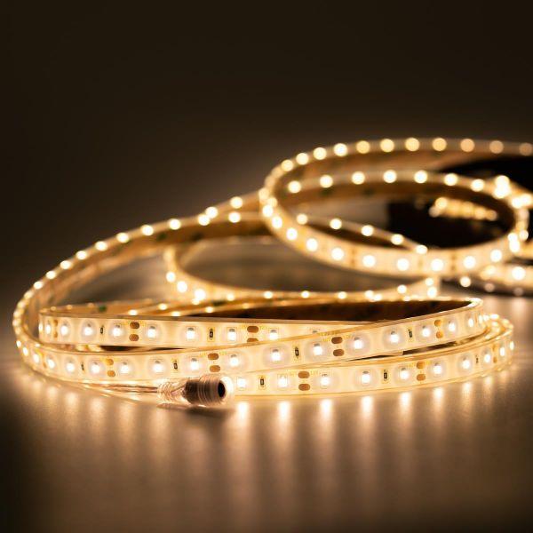 12V wasserfester LED Streifen – warmweiß – 500cm – IP67