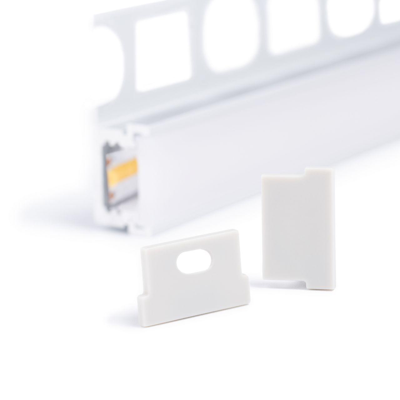 Endkappe für Aluminium LED Profil CC-80