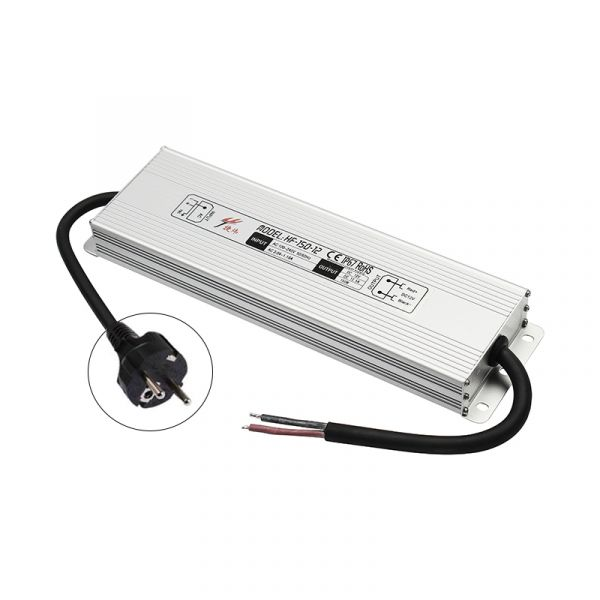 12V DC – wasserfestes Netzteil stabilisiert – 12,5A – 150Watt – IP67