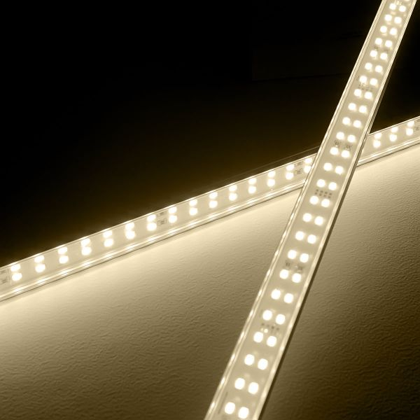 24V High-Power Aluminium LED Leiste – tageslichtweiß – transparente Abdeckung