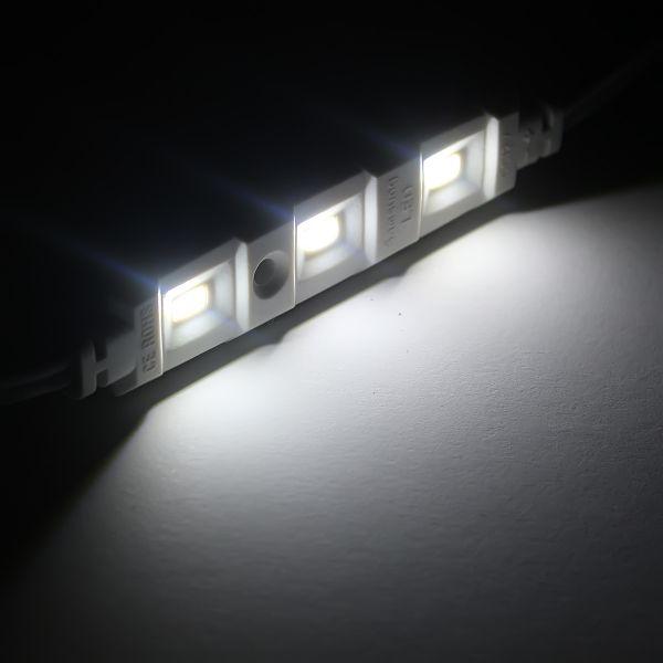 12V LED Modul 105 Lumen 3x 5630 Power LEDs - wasserfest weiß