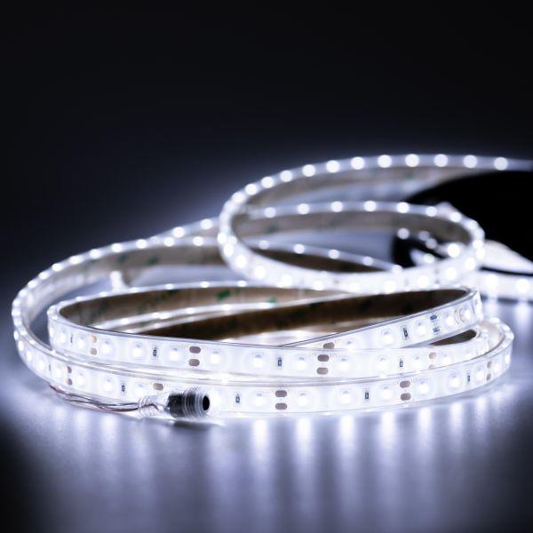 12V wasserfester LED Streifen – weiß – 500cm – IP67