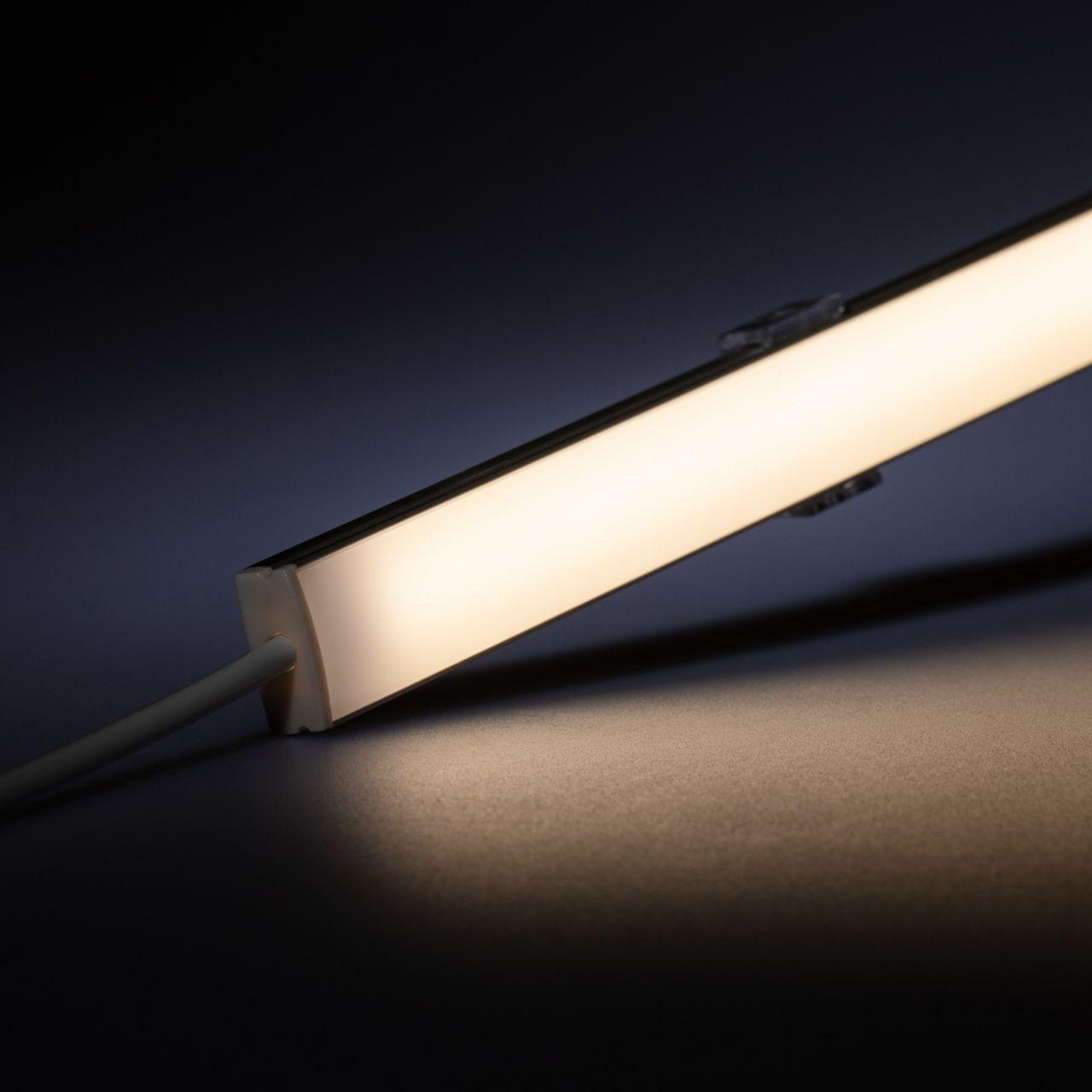 24V Slim-Line Aluminium LED Leiste – COB - tageslichtweiß – diffuse Abdeckung