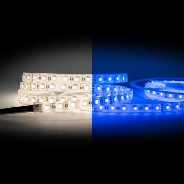 24V wasserfester LED Streifen – RGBW – 500cm – IP65