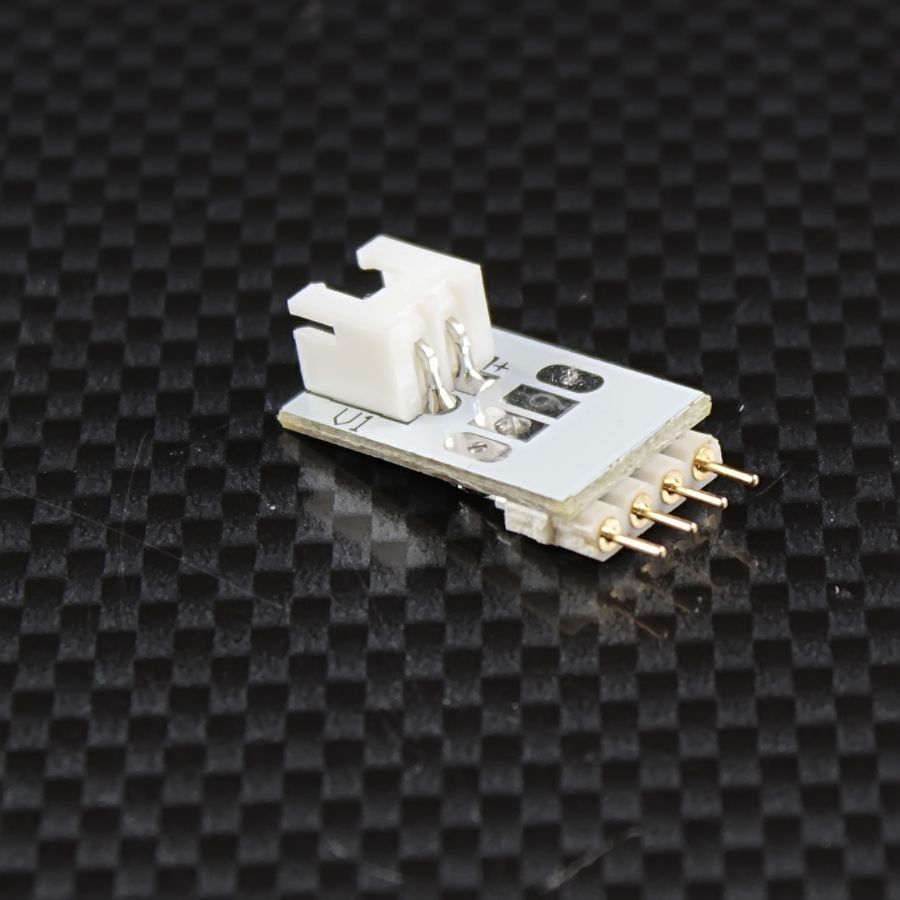 Quick-System 4polig 2.54 – Steckerplatine 2polig auf 4polig