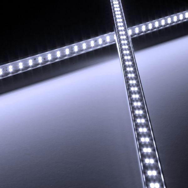 24V Aluminium TWIN LED Leiste – weiß – einstellbare Abstrahlrichtung