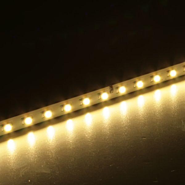 24V SMD-LED-Leiste mit 42 PLCC2 SMD-LEDs 420mm - warmweiß