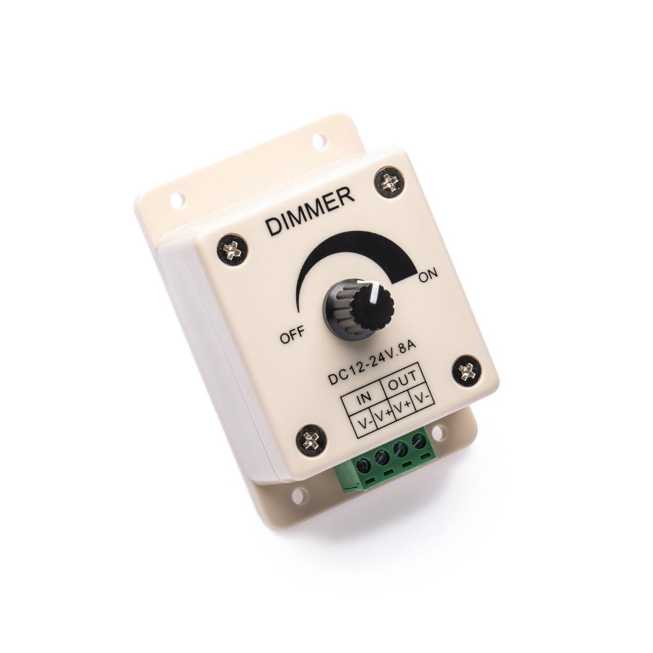 LED Dimmer – manuell – mit Schraubklemmen