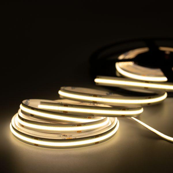 24V COB LED Streifen – tageslichtweiß – alle 6,25cm teilbar