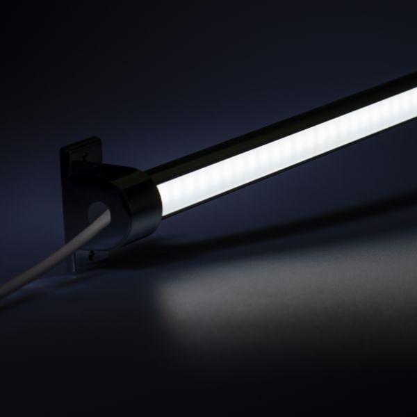 24V wasserfeste Aluminium LED Leiste - einstellbare Abstrahlrichtung - weiß - diffus - IP65