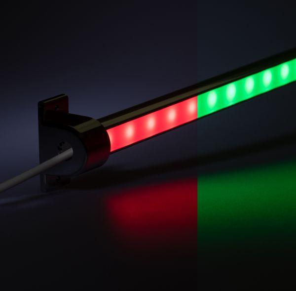 12V Aluminium LED Leiste - einstellbare Abstrahlrichtung– RGB – diffuse Abdeckung