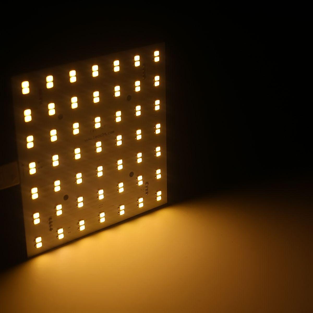 24V Matrix Modul – warmweiß – 10x10cm – eckig