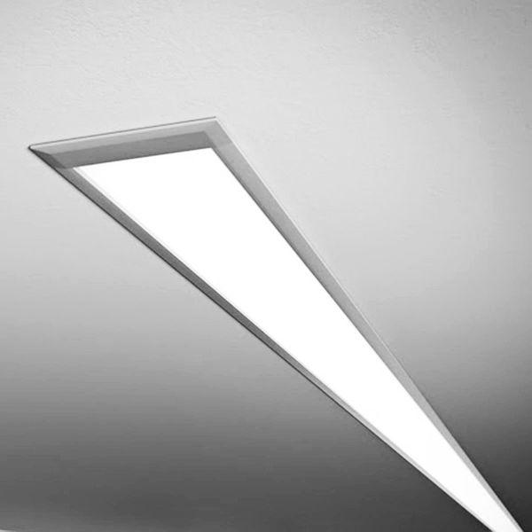 lineare LED Einbauleuchte diffus 24V DC weiss 6000k - ab 34cm 9Watt bis 203cm 60Watt