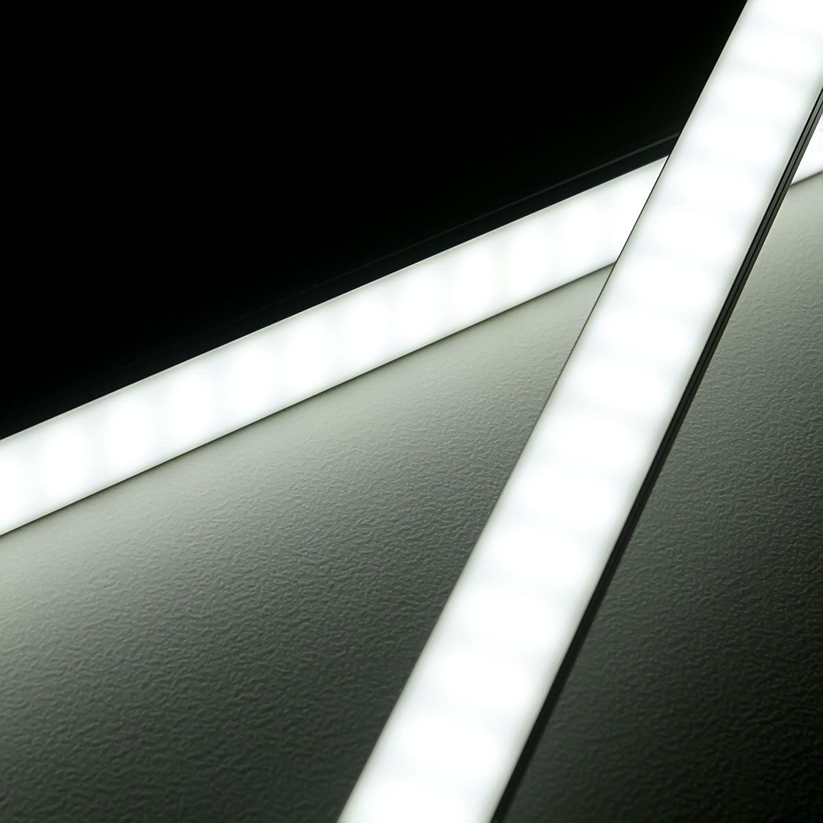 24V High-Power Aluminium LED Leiste – weiß – diffuse Abdeckung
