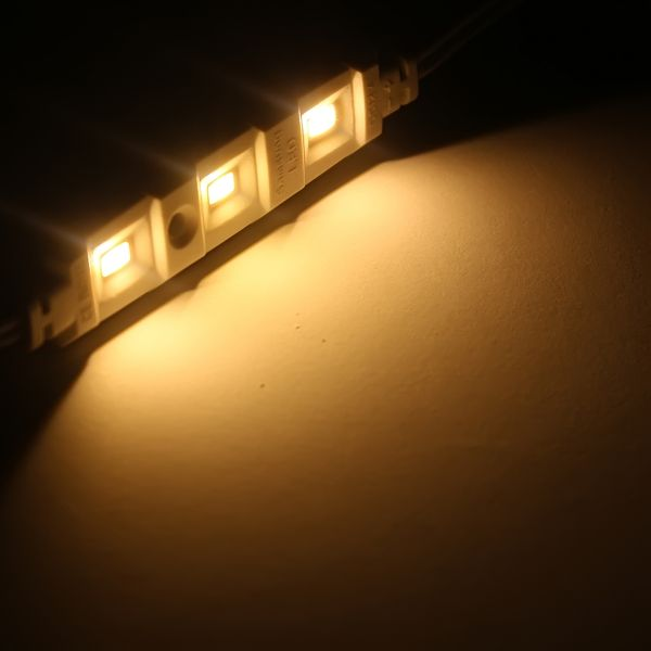 12V LED Modul 105 Lumen 3x 5630 Power LEDs - wasserfest warmweiß