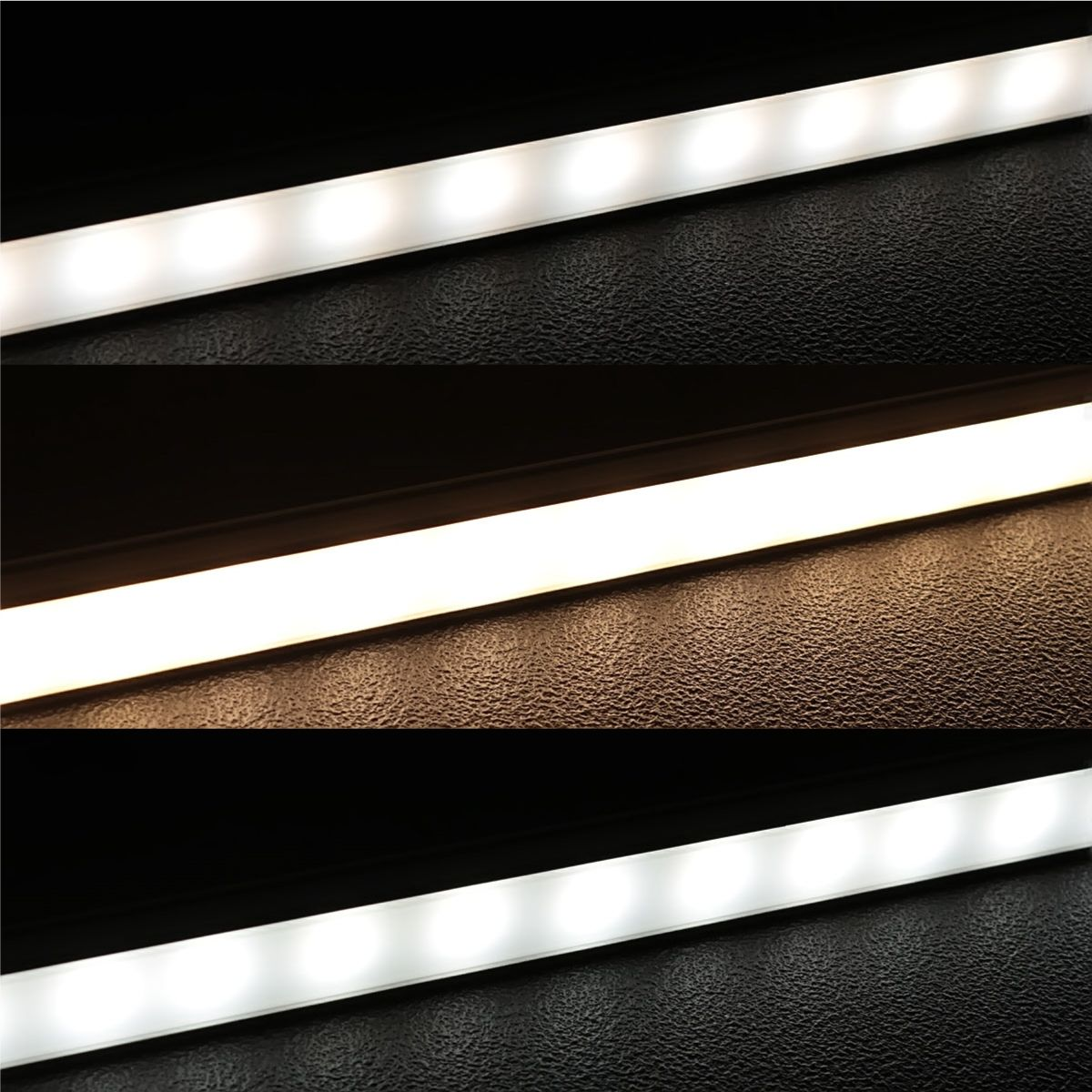 24V Slim-Line Aluminium LED Leiste – Farbtemperatur einstellbar – diffuse Abdeckung