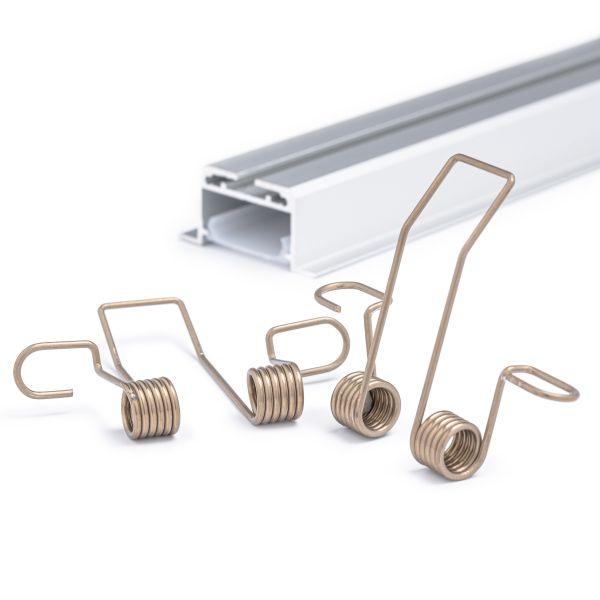 Montagefeder für LEBL Einbauleuchten und CC-56 Aluminium LED Profil