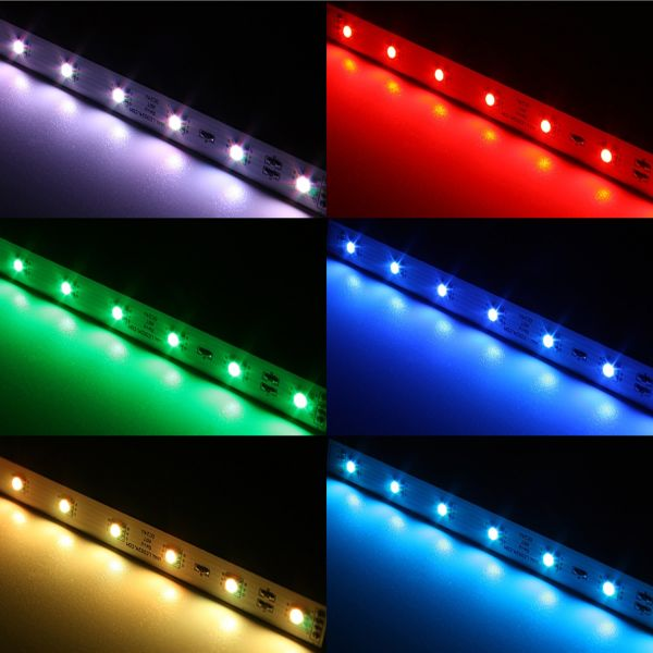 RGB Quick LED Leisten Modul - steckbar - Farbwechsel steuerbar - 250mm - 24V